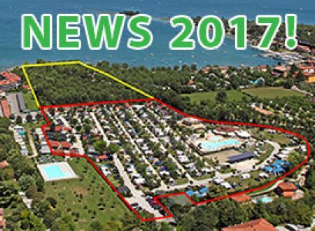 Die Folgearbeiten am neuen Bereich unseres naturgrünen Campingplatzes am Gardasee